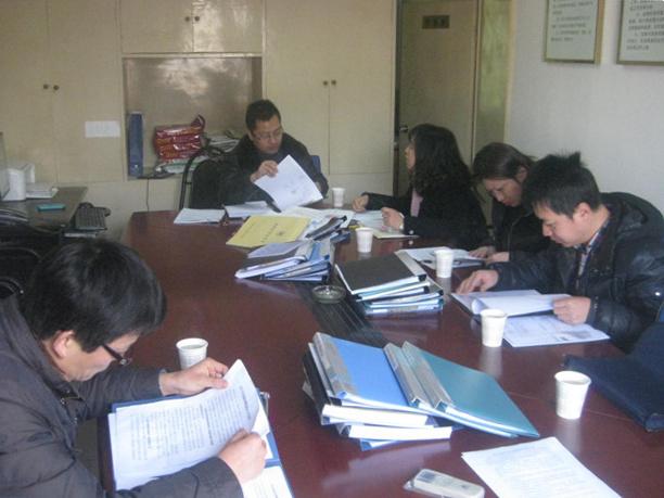 金庭动物防疫站顺利通过2014年度工作目标管理岗位